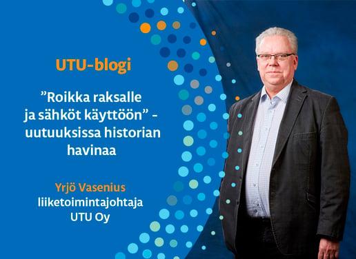Yrjö Vasenius blogikuva